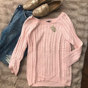 NWT American Eagle cable knit sweater